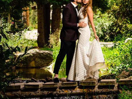 LeeAna and Matt's Stylish Wedding