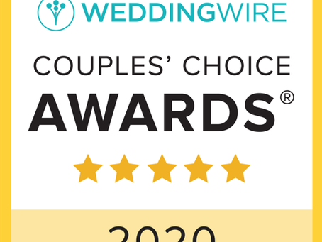 Blackstone Rivers Ranch Awarded WeddingWire Couples' Choice Award 2020