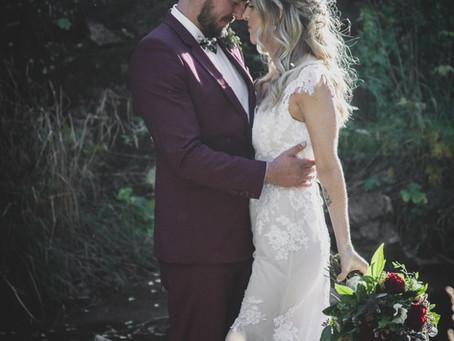 Kelcy & Steph's Autumn Rich Wedding
