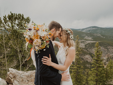 Wonderful Wedding Filled with Natural Touches