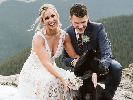 Heather and Kevin's Mountain Wedding