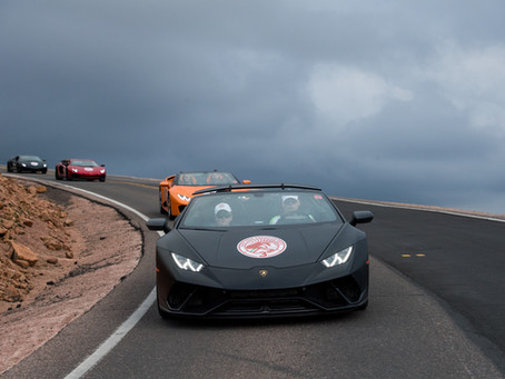 Lamborghini's Giro 2018: American West at Blackstone Rivers Ranch