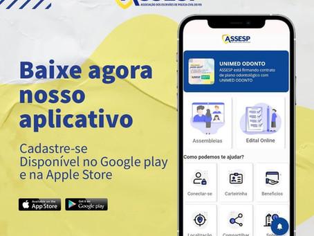 A Assesp agora conta com um aplicativo para os associados