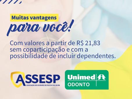 ASSESP está firmando contrato de plano odontológico com UNIMED ODONTO para associados e dependentes