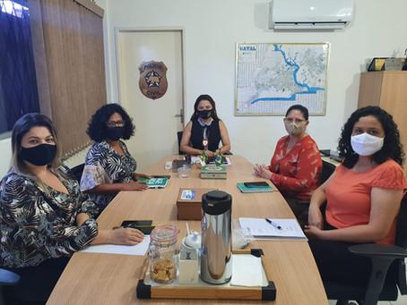 Assesp participa de reunião na Delegacia Geral