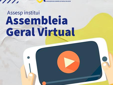 Assesp institui Assembleia Geral Virtual