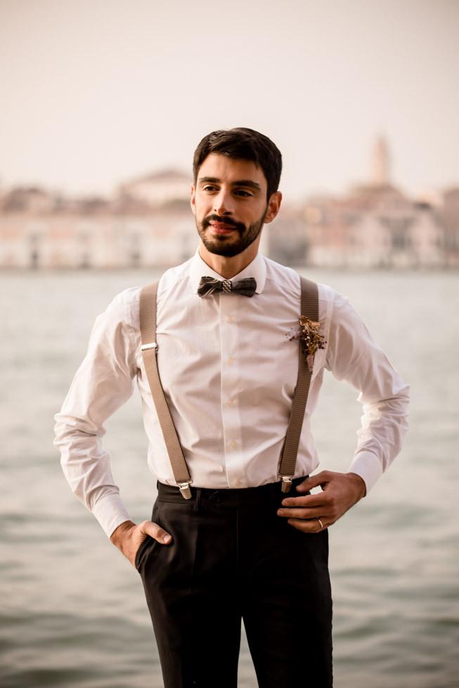 groom at venice