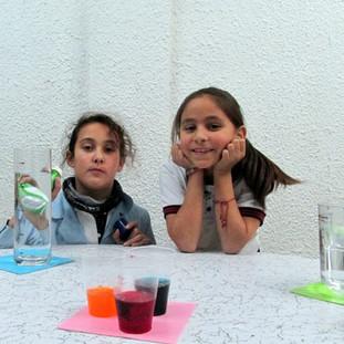 En taller de Ciencias en Huepil Afterschool