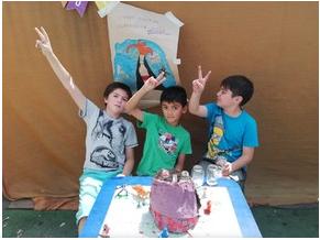 Niños y ciencias, el volcán y otras experiencias