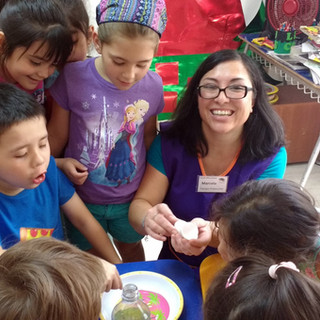 Taller de ciencia en Huepil Afterschool