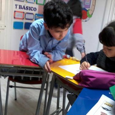 Estudiando en Huepil Afterschool