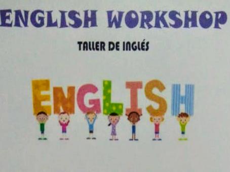 Taller de inglés para niños entre 4 y 12 años