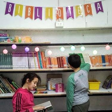 Biblioteca en Huepil Afterschool