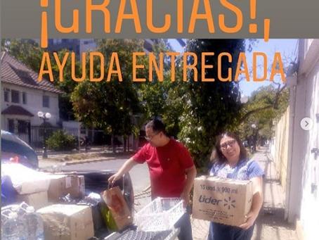 ¡Ayuda para Valparaíso entregada!