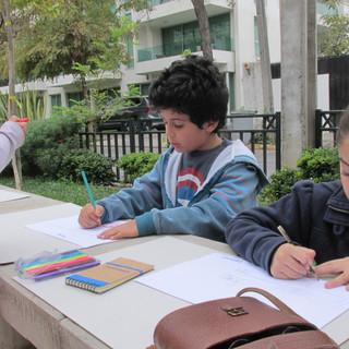 Mapeo infantil en Huepil Afterschool