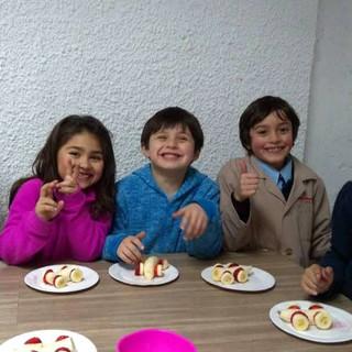 Taller de cocina en Huepil Afterschool