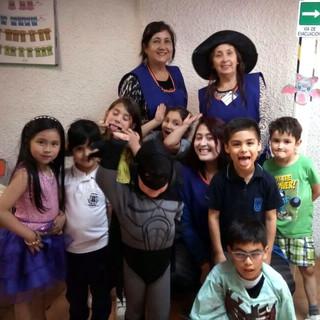 Celebrando Halloween en Huepil Afterschool
