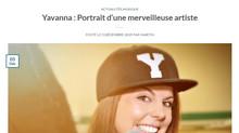 [Presse] Yavanna portrait d'une merveilleuse artiste