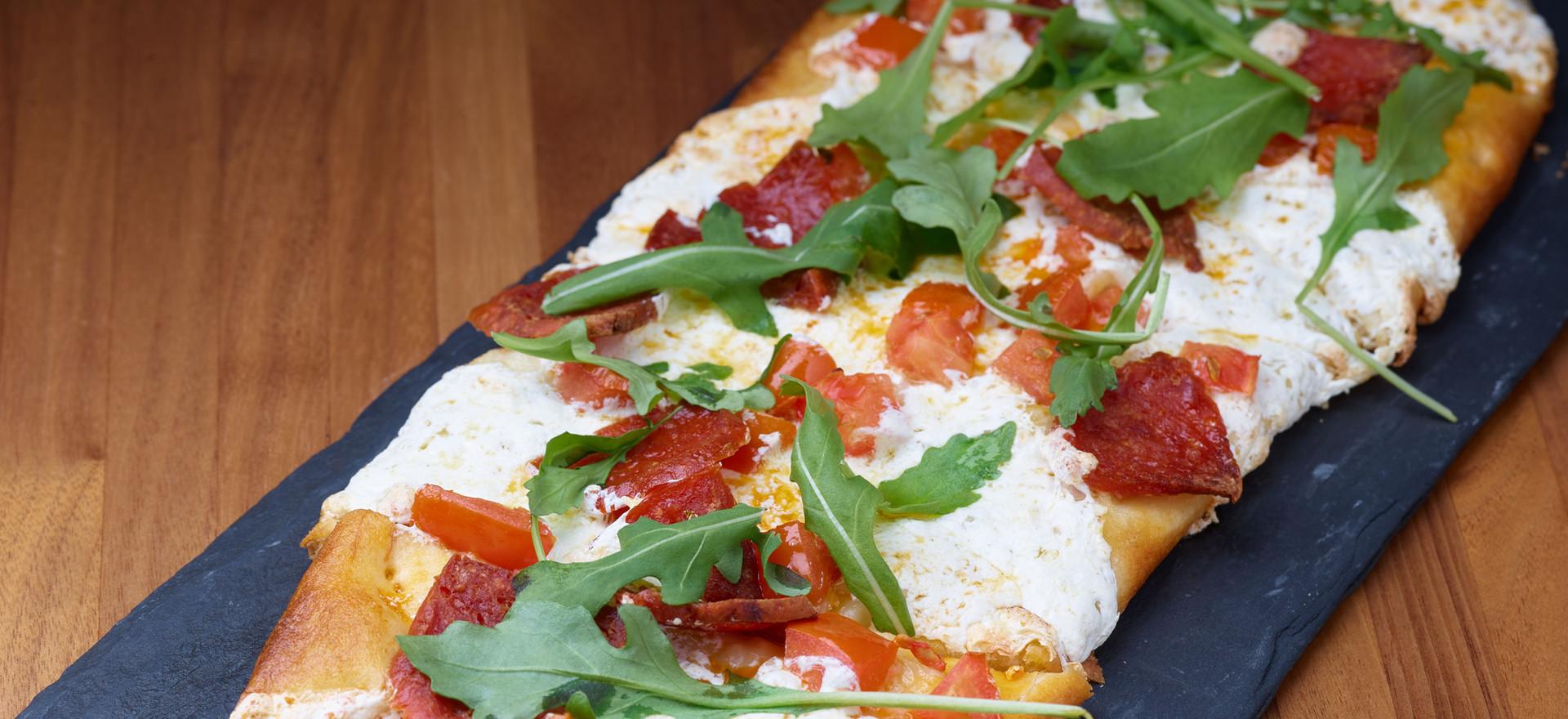 Arugula & Pepperoni Flatbread