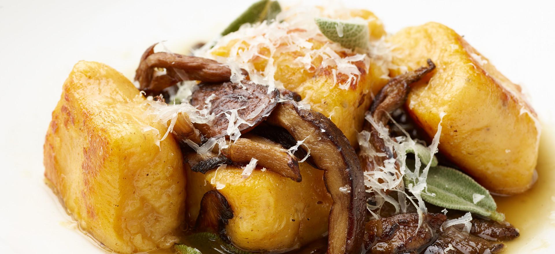 Gnochi and Wild Mushrooms