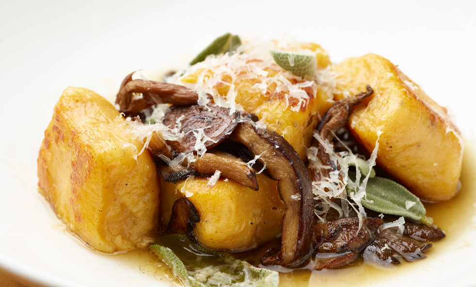 Gnochi and Wild Mushrooms