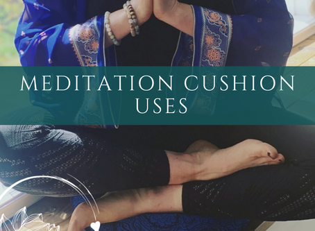 What's the big deal about meditation…and what is a meditation cushion anyways?