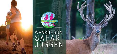 Safari-Joggen Cadeaubon