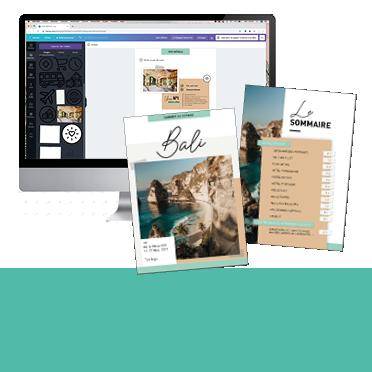 Téléchargez votre template de carnet de voyage personnalisable !