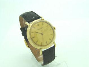 Original IWC Schaffhausen Uhr Handaufzug in 18K Gelbgold um 1949
