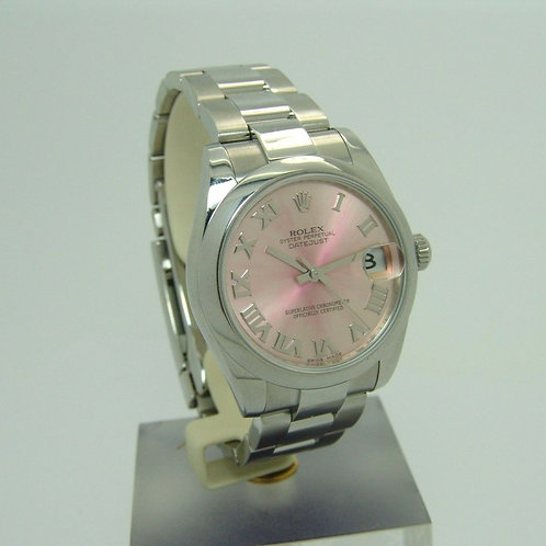 Rolex Datejust Medium Automatikuhr Edelstahl Ref.178240 Uhr *tolles ZB*+ Papiere