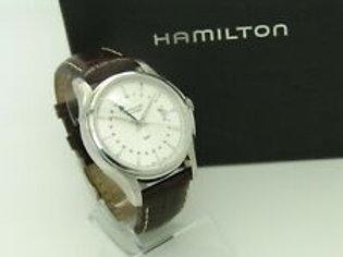 Hamilton Jazzmaster GMT Automatikuhr Ref. H325850 Ø 41mm + Papiere & Box