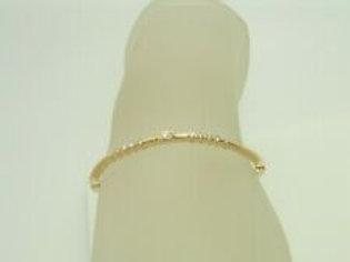 Cadeaux Designer- Armreif 18K Gelbgold mit 0,44ct Diamanten bracelet +Zertifikat