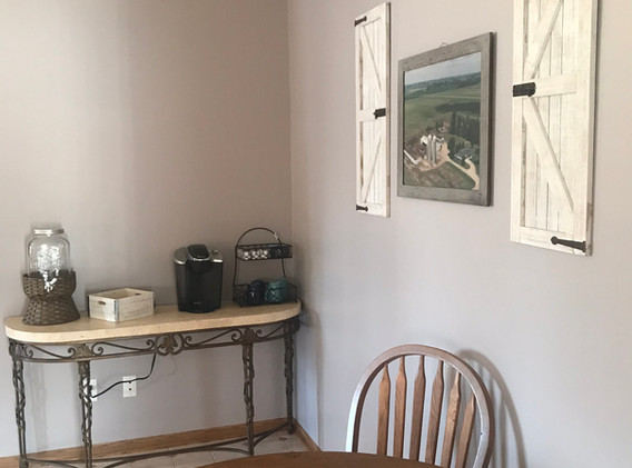Breakfast Nook/Snack Station