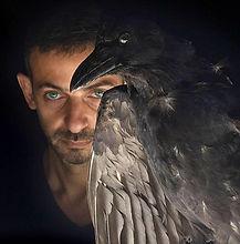 Portrait with a Bird