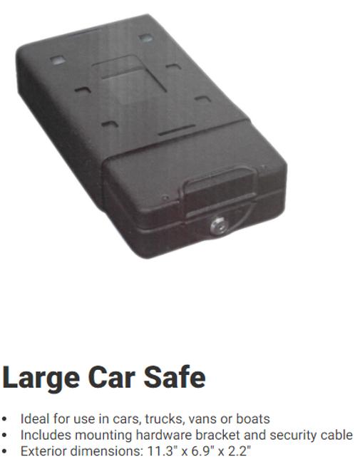 Bulldog Large Car Safe