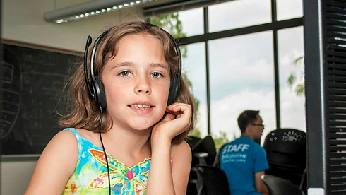 Youth Girl at an Emagination Tech Camp