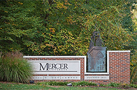 Mercer University Campus Sign - Atlanta, GA 30341 - Emagination Tech Camp GA location