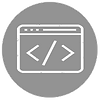 Learn to Code Icon for Coding Camp