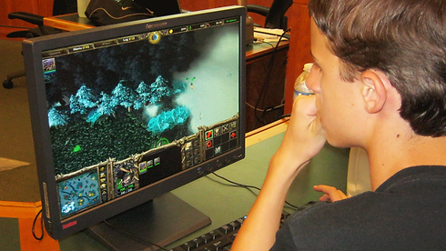 An Emagination Tech Camper learning Game Design at Technology Camp