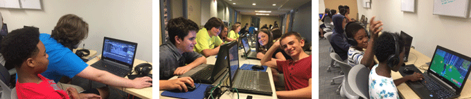 Learn to design and build video games at Emagination Tech Camps