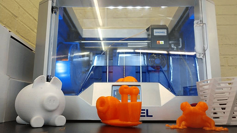 Image of a 3D Printer at Technology Camp