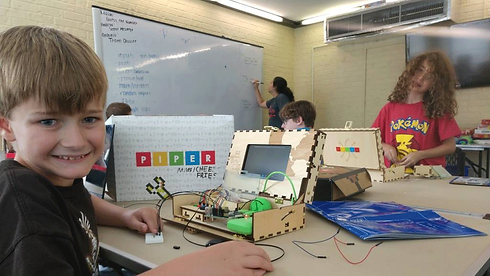 Emagination campers learning engineering