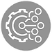Engineering and Gear Icon for Tech Camps