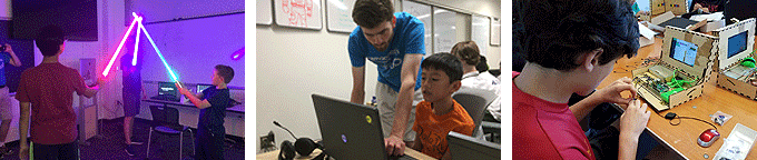 Explore engineering at Emagination Tech Camps