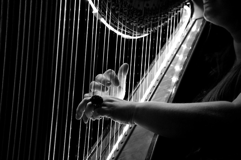 Dans quels films voit-on une harpe ?