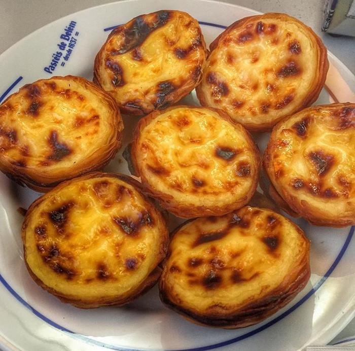 Pastéis de Bélem em Lisboa