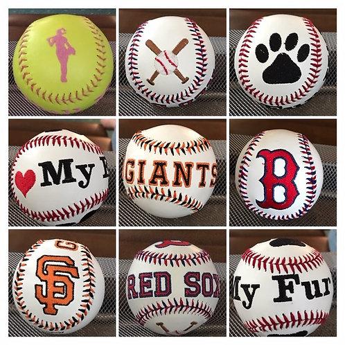Custom Baseballs