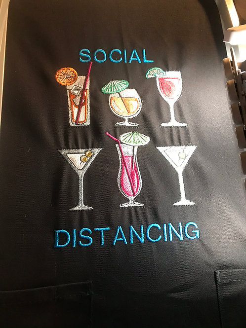 Social Distancing Apron