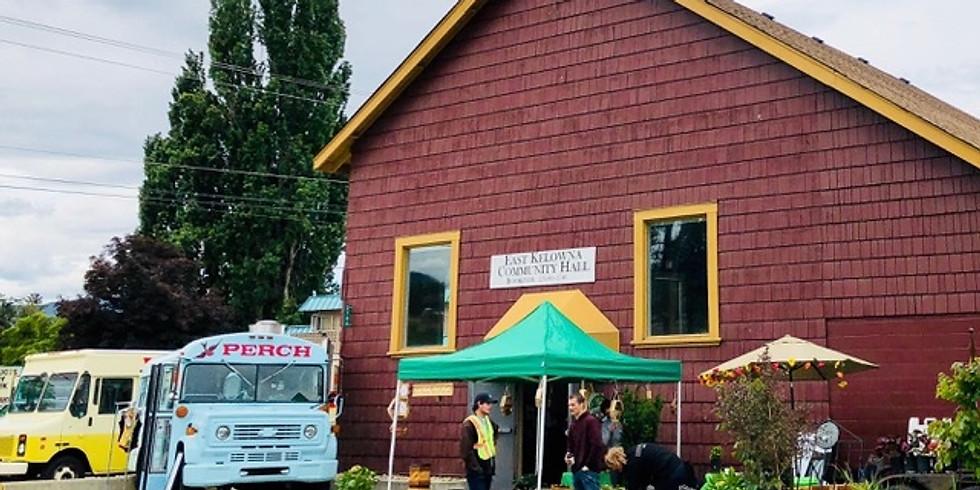 East Kelowna Community Market June 28th 2020