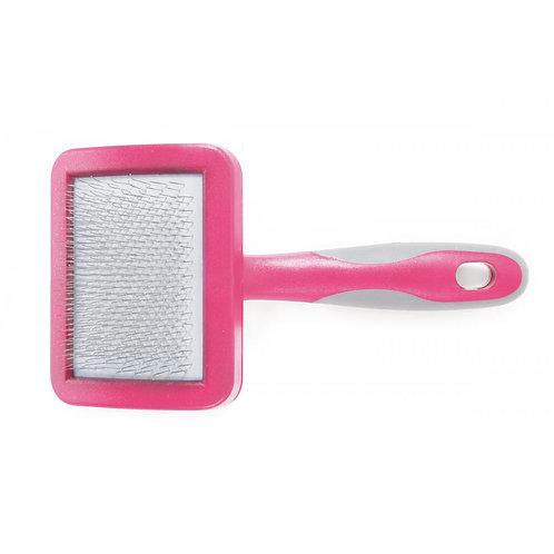Ancol Ergo Cat Slicker Brush Pink